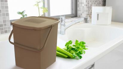 Sauber und sicher Bioabfall sammeln